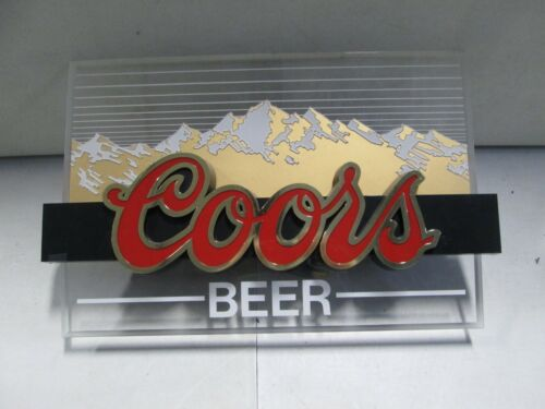 Coors Beer Lighted Sign