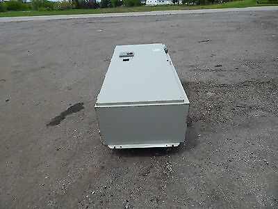 Square D Electrical Box 60x27x15 With 100amp Circuit Breaker With Startstop