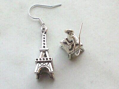 Ohrhänger *Paris Krankreich Eifelturm Hänger Ohrschmuck (Eiffelturm Ringe)