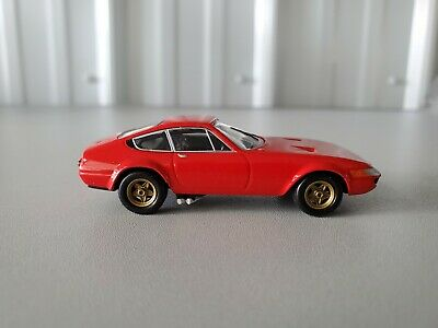 Kyosho 1/64 FERRARI 365GTB4 COMPETIZIONE RED diecast car model Loose Mint