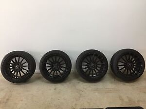 Toyota 86, Subaru WRX OX 110 Wheels and Tyres Woodville South Charles Sturt Area Preview