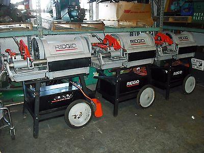 Ridgid 1224 12-4 Threading Machine