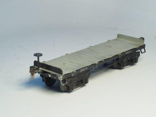MARKLIN Scale 1 PRE-WAR Trains  GAUGE  I Vintage Metal FALT CAR 2933