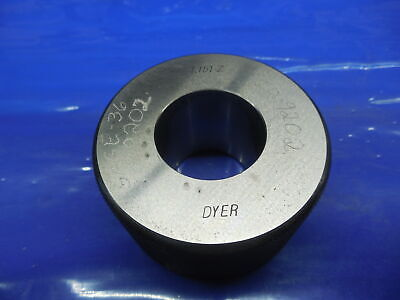 1.1510 Class Z Master Bore Ring Gage 1.1563 -.0053 Undersize 1 532 29.235 Mm