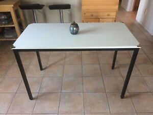 table haute ajustable