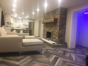Furnished basement apartment Ancaster $ 1650 monthly short term