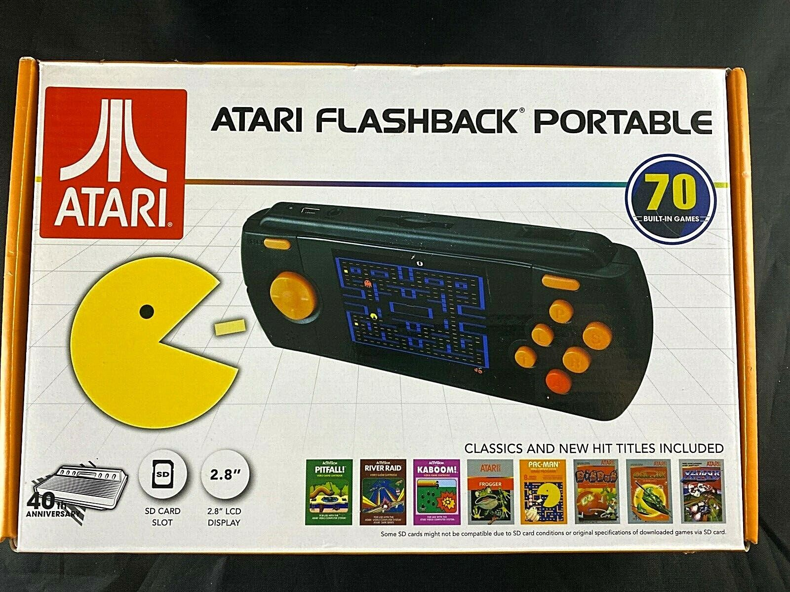 Atari Flashback Portable Game Player 2017 with 70 Built-in Games