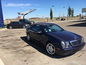 2000 Mercedes Benz CLK430 convertible