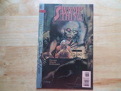 1993 DC VERTIGO SWAMP THING # 137 SIGNED 2X CHARLES VESS & KIM DEMULDER WITH POA