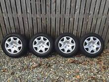 Wheels (Complete w / tyres and hub caps) x 4 - As New Gordonvale Cairns City Preview
