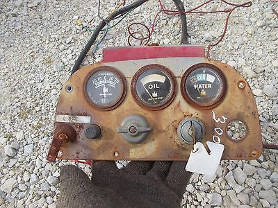 Ihc 300 Rowcrop Tractor Dash Panel W Gauges Orig Ignition Key Wiring Harness
