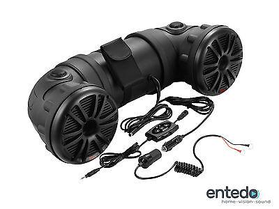 BOSS AUDIO ATV25B 12V Bluetooth Soundsystem Soundbar Wasserdicht ATV UTV Boot Atv Audio System
