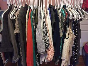 Women's size SMALL wardrobe