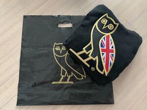 Union Jack UK OVO HOODIE OWL SWEATER - Size L