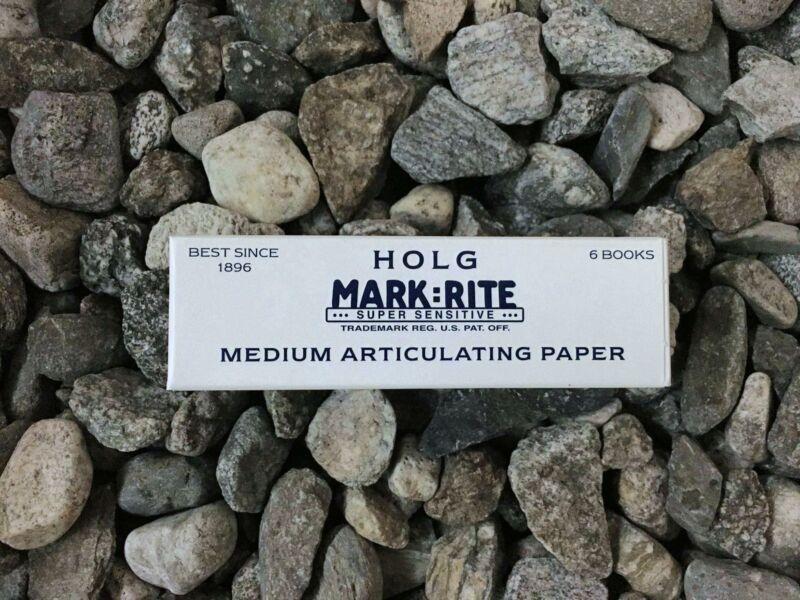 3 x Boxes, Medium Articulating Paper Super Sensitive Holg Mark:Rite #140-NBMD050