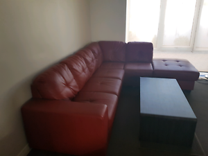 L shape Lounge with coffee table