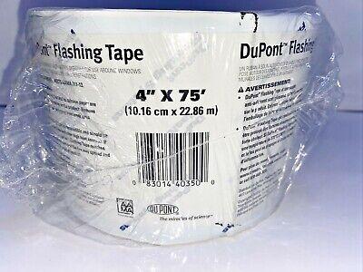 Dupont 4x75 Roll Flashing Tape Doors Windows Crawl Space Encapsulation Fast Sh
