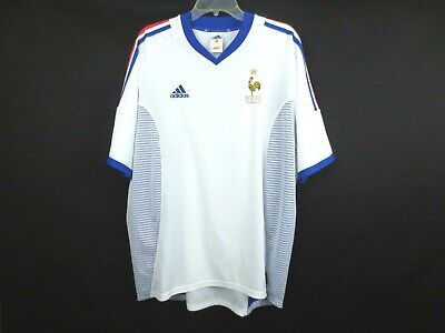ADIDAS FRANCE 2010 World Cup Soccer Shirt Jersey Men's Small image