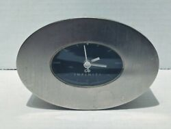 Infinity Automobile Small Desk Top Clock Paper Weight