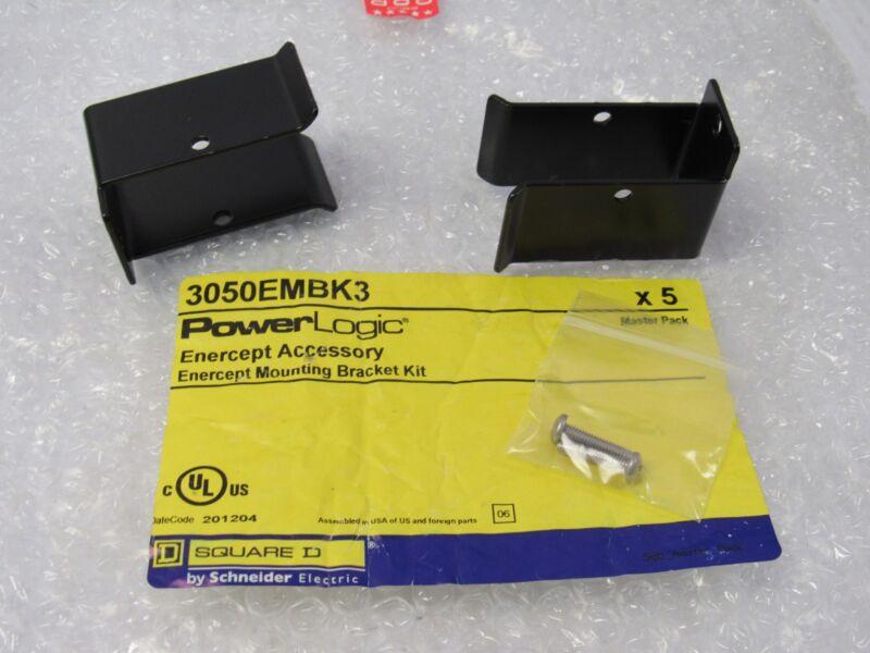 NEW SQUARE D POWER LOGIC ENTERCEPT MOUNTING BRACKET KIT 3050EMBK3