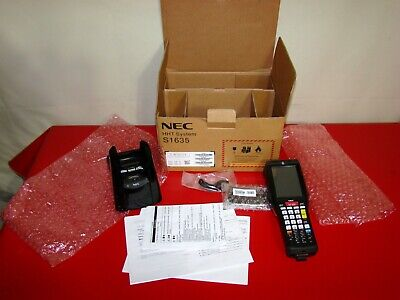 Nec Hht System S1635-01 Portable Data Terminal Barcode Scanner No Battery