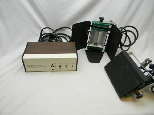 OxBerry Pro Copy F2 photography light controller with 2 lights