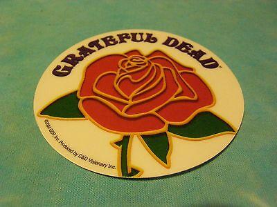 Grateful Dead Rose 4 inch Clear Window Sticker - Dead Rose