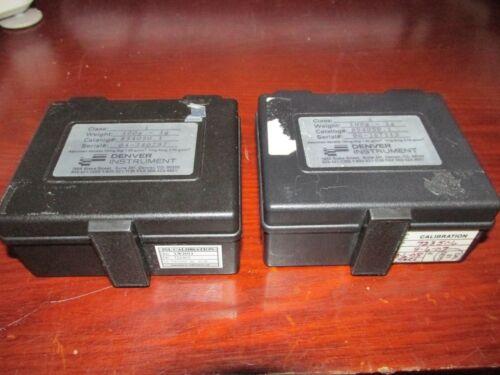 Denver Instruments Calibration Weight Set Class 1 **TESTED** 854050.1