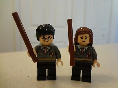 LEGO Harry Potter & Hermione Granger Gryffindor Minifigures 4842 4738
