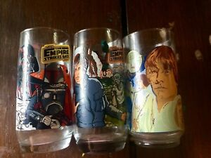 1980s Star Wars collector glasses