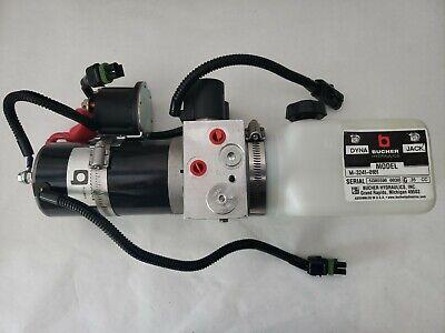 New Bucher M-3241-0101 Hydraulic Dyna Jack Ramp Power Pack Unit