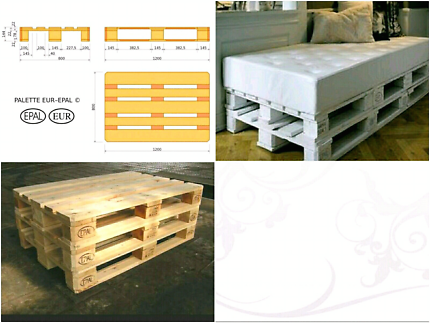 Pallets Bases - For DIY Furniture & Projects