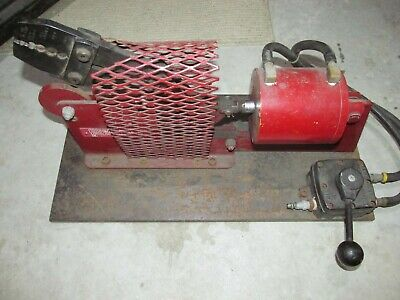 Loos Co. Locoloc Kearney Type 1 P Pneumatic Crimper