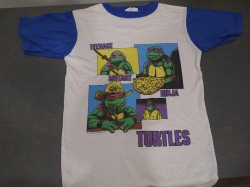 True Vintage 1990 TMNT Teenage Mutant Ninja Turtles Movie T Shirt Kid
