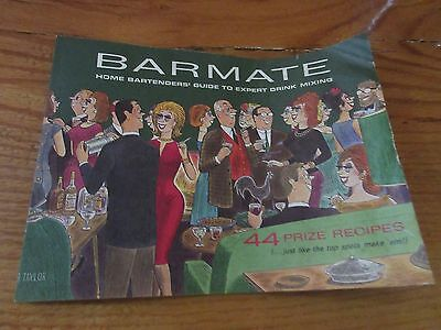 Vintage Cocktail Recipes - BARMATE - Mixed Drinks Bartending Guide - 44 Recipes