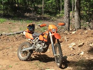 250 Ktm exc 4 stroke ( blue plateable)