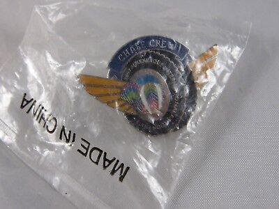 2003 Albuquerque International Balloon Fiesta Hat Lapel Pin Official Chase Crew