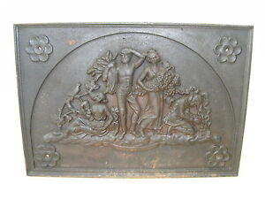sublime ancien relief mural image 3d plaque murale fonte 20kg ebay. Black Bedroom Furniture Sets. Home Design Ideas