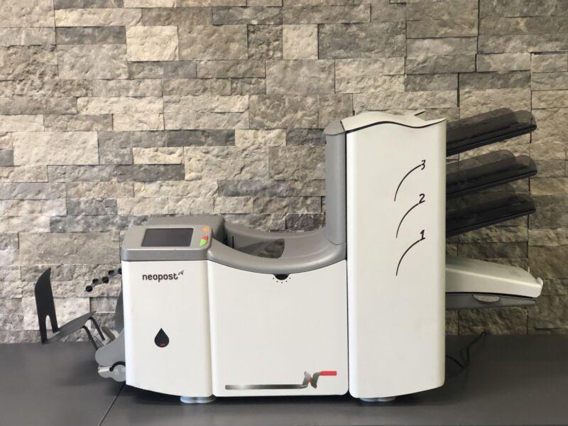 Neopost DS70 HaslerM5000 Formax 3 Station Folder Inserter