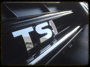 Golf VII 7 TSI TDI  Zeichen Emblem Kühlergrill Schriftzug Logo Grill