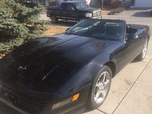 1993 Corvette Convertible 40th Anniversary collector car