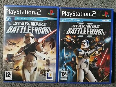 Star Wars Battlefront 1 & 2 (Sony Playstation 2) PS2