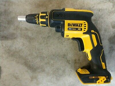 Dewalt 20v Max Xr Brushless Drywall Screwgun Model Dcf620