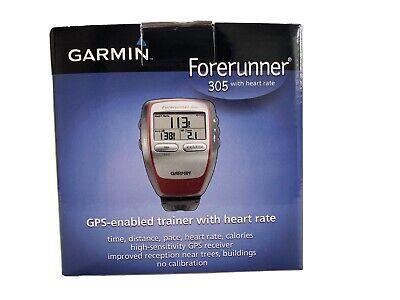 Garmin Forerunner 305 GPS Fitness Running Watch Training Sport With Heart Rate