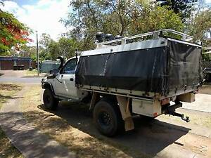 Swap Van RWC+ 1YR REGO 2000 Hilux 4x4 3.0TD Camping/Tradie Toowong Brisbane North West Preview