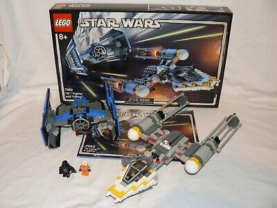 LEGO Star Wars 7262: TIE Fighter and Y-Wing 100% Complete & Boxed