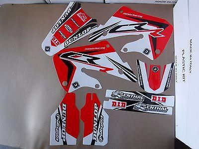 FLU PTS3  graphics Honda 98 99  CR125 CR125R & 1997 1998 1999 CR250 CR250R