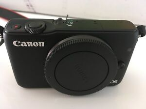 Canon EOS M10 mirrorless camera like M100 M3 M2 M M5 M6 M50