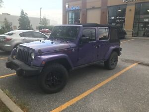 Jeep Wrangler Unlimited special edition