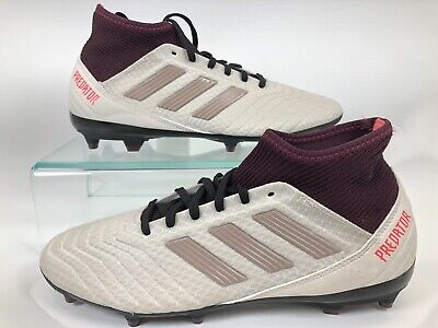 3d6a6ce04 Adidas Predator 18.3 FG Maroon   Talc Womens Soccer Cleats Size 9 NEW DB2511
